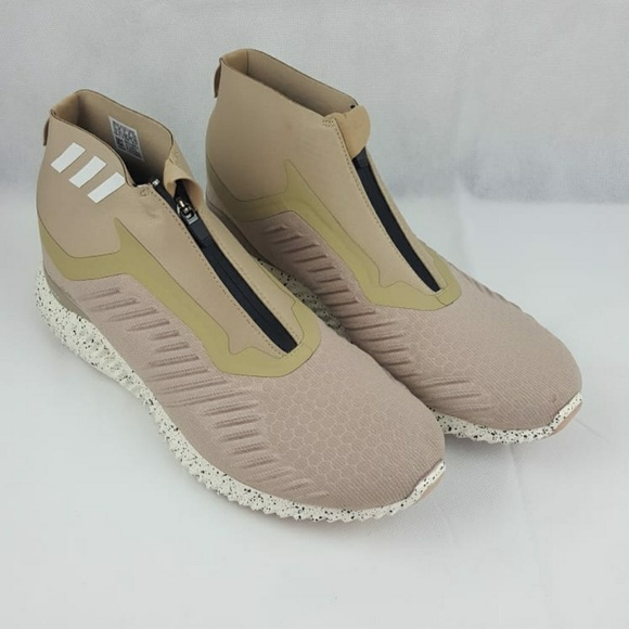 the latest 3b016 a60b5 adidas DA9949 Mens Tan Alpha bounce Zip Running